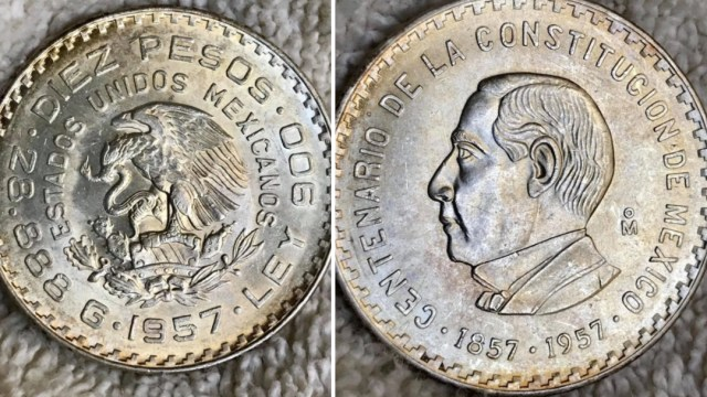 Moneda de Benito Juárez se vende por más de mil pesos