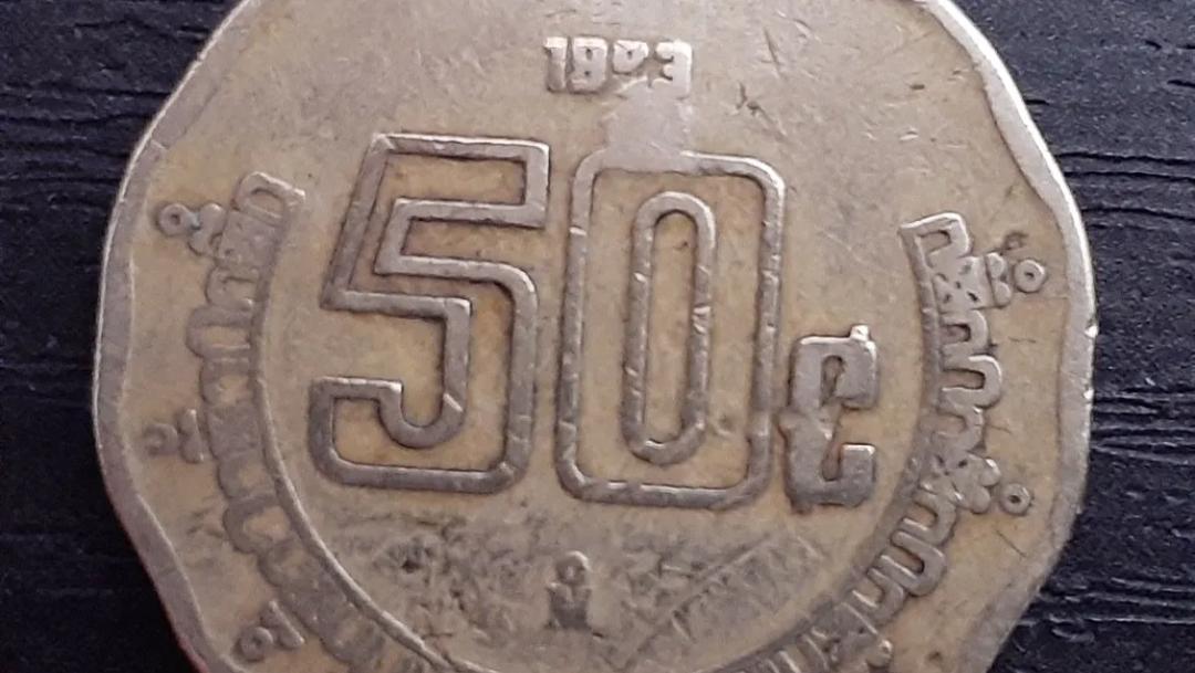 ¿Por qué una moneda de 50 centavos vale tres mil pesos?