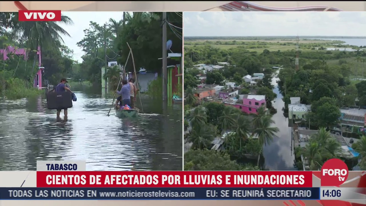 municipio de centla en tabasco continua bajo el agua