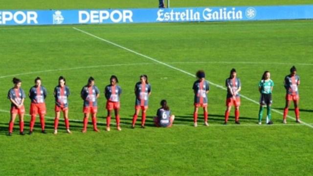 Futbolista española da la espalda a Maradona en homenaje