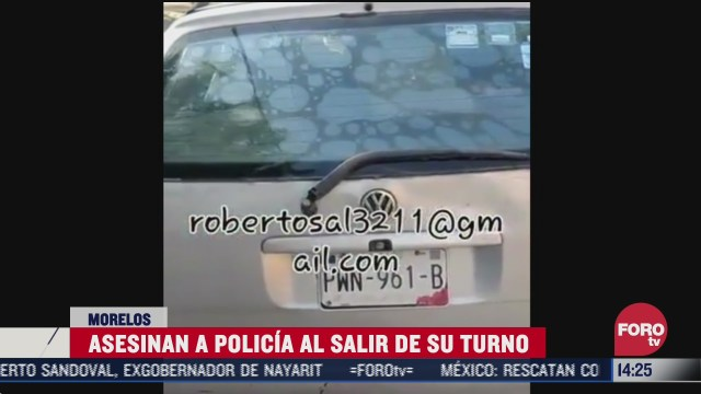 policia muere asesinado en morelos