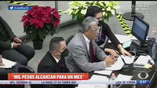 retan a secretario de desarrollo social de veracruz a vivir con mil pesos al mes
