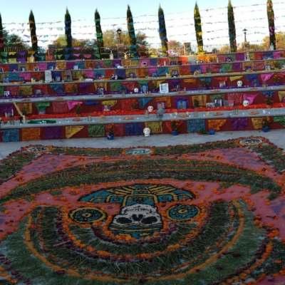 Fotos: Colocan decenas de altares por Día de Muertos en San Miguel de Allende, Guanajuato