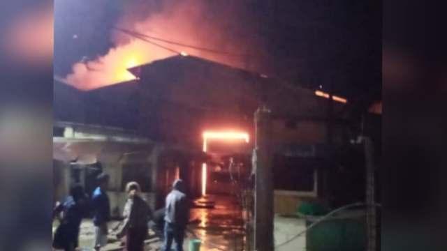 Se incendia Mercado municipal de Tequila, en Veracruz