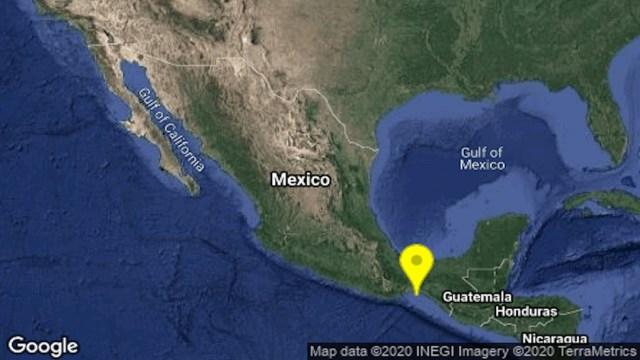 Se registra sismo de magnitud 4.9 en Unión Hidalgo, Oaxaca