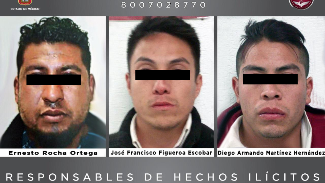 Reciben 50 años cárcel por secuestro y violación en Edomex