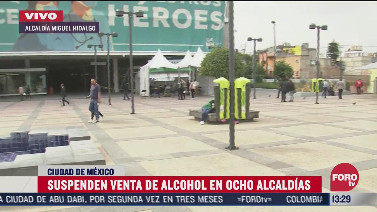 suspenden venta de alcohol en ocho alcaldias de la cdmx