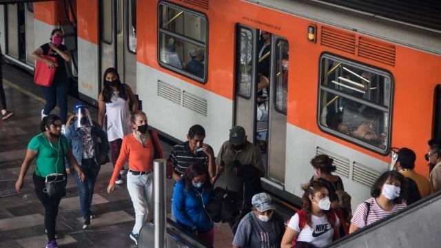Usuarios del Metro