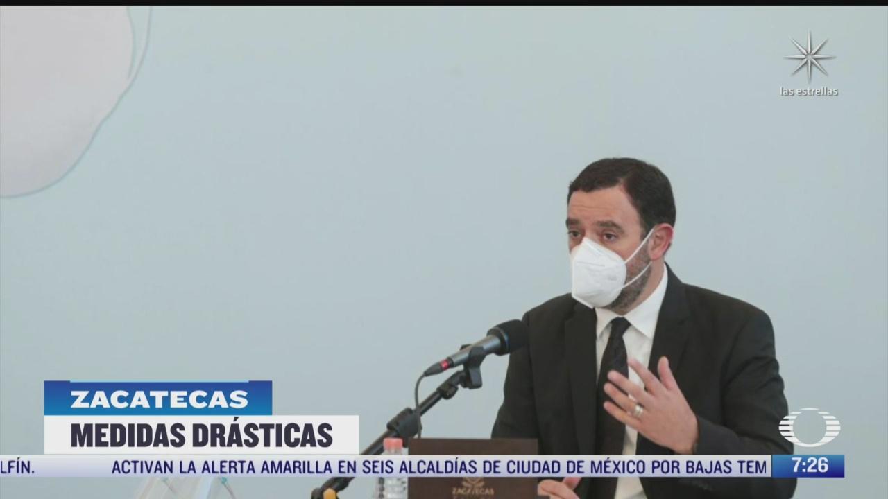 zacatecas busca hacer obligatorio el uso de cubrebocas