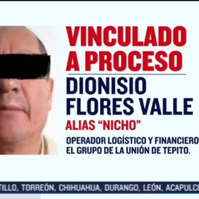"Vinculan a proceso a ""Don Nicho"", padre de ""El Lunares"""