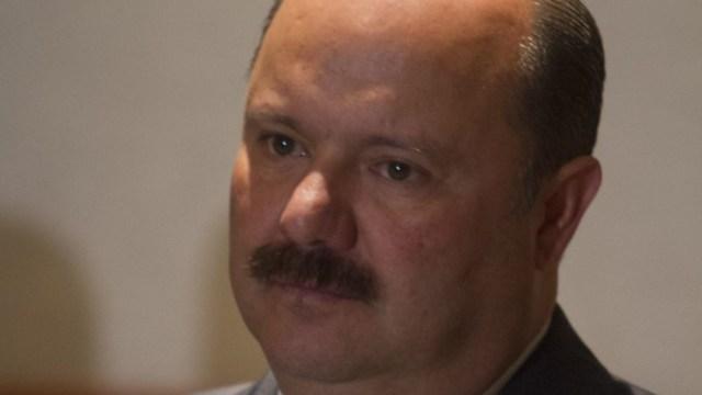 Fotografía del exgobernador de Chihuahua César Duarte