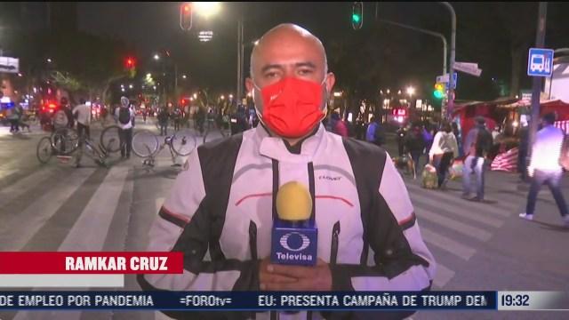 ciclistas bloquean avenidas insurgentes y alvaro obregon en cdmx