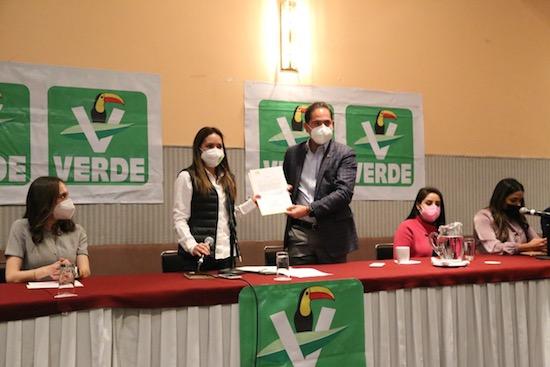 Karen Castrejón Trujillo Partido Verde