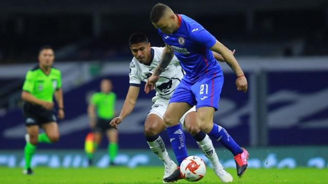 Cruz Azul vs Pumas: horario de la semifinales de ida torneo Guard1anes 2020