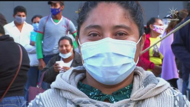 damnificados pernoctan en tabasco para recibir ayudas