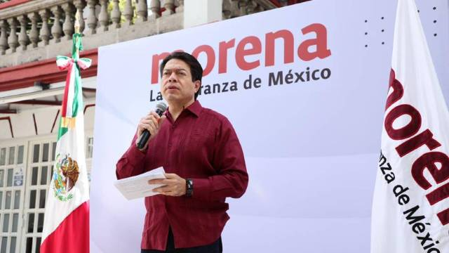 """El presidente nacional de Morena, Mario Delgado, dijo que la alianza entre el PRI, PAN y PRD en 2021 confirma la existencia de """"la mafia del poder"""""""