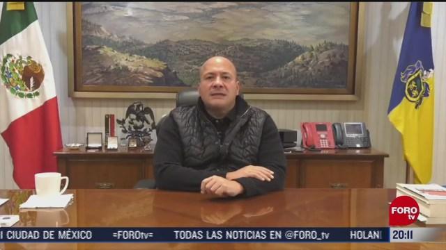enrique alfaro refrenda compromiso para dar con asesinos de aristoteles sandoval