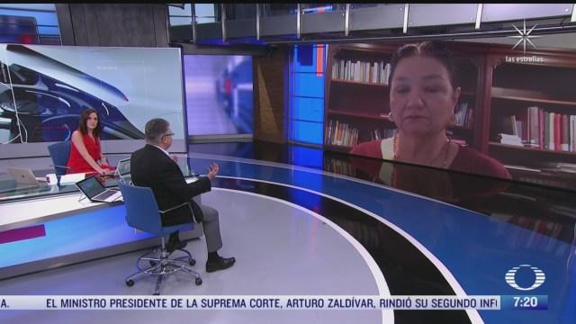 entrevista con dulce maria sauri presidenta de la mesa directiva de la camara de diputados para despierta