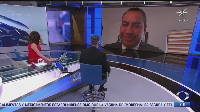 entrevista con eduardo ramirez presidente de la mesa directiva de la camara de senadores para despierta