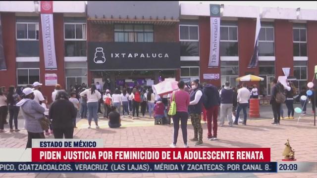 exigen justicia por renata menor victima de feminicidio en ixtapaluca