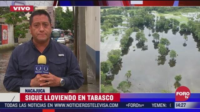 fuertes lluvias en tabasco afectan a rancherias