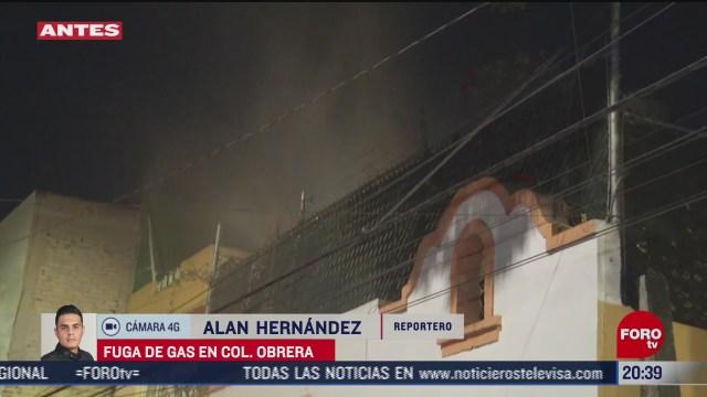 fuga de gas sorprende a vecinos en la colonia obrera