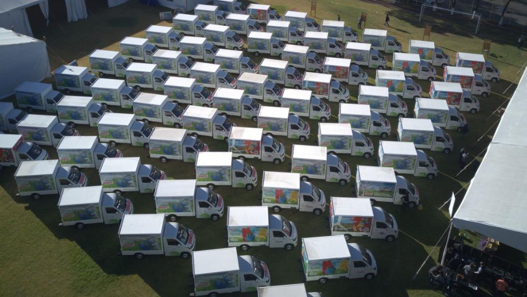 Grupo Bimbo busca reducir su huella de carbono con una flotilla 100% autosustentable