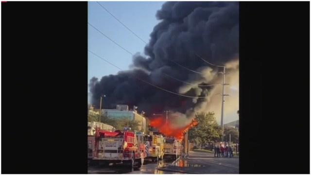 Incendio Guadalupe