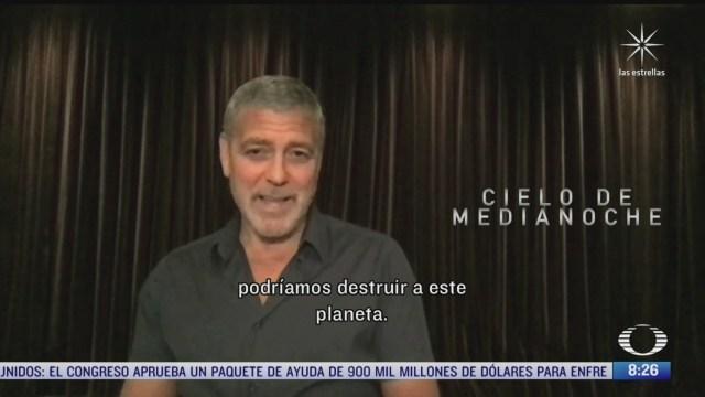 paola rojas entrevista a george clooney