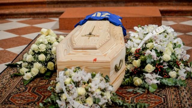 Funeral del futbolista italiano Paolo Rossi