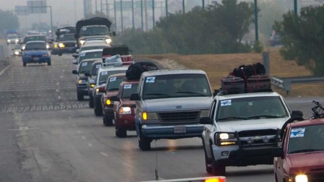 Piden a paisanos no viajar por COVID y ya circulan por carreteras de Nuevo León