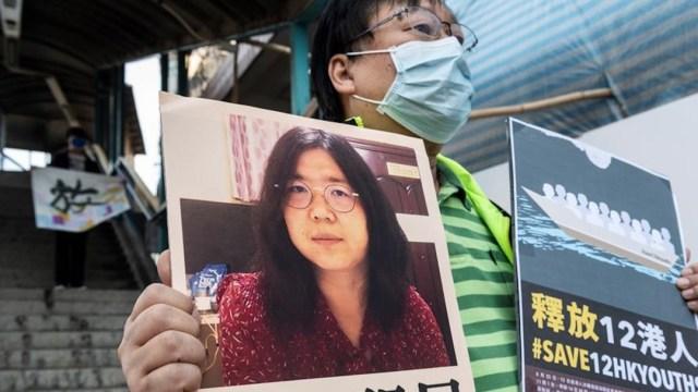 UE pide libertad para la periodista china que informó del COVID-19 desde Wuhan
