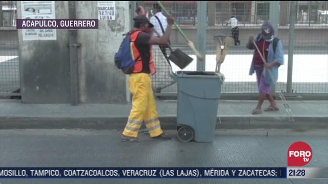 acapulco inicia jornadas de limpia publica