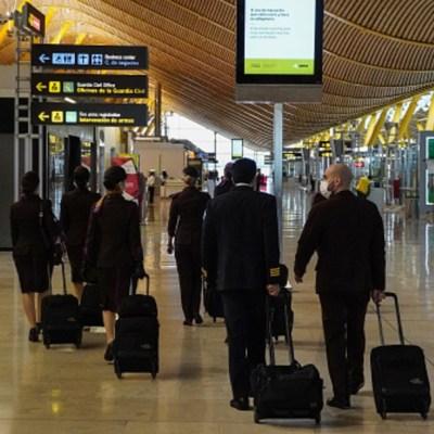 Aeropuerto de Barajas, en Madrid, España