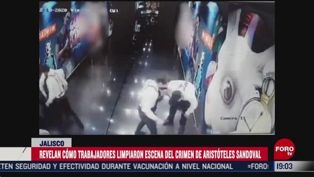 videos sobre la alteración de la escena del crimen en el asesinato del exgobernador de Jalisco, Aristóteles Sandoval