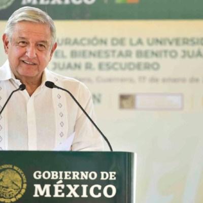 Andrés Manuel López Obrador, durante su gira por Guerrero. (Foto: Cuartoscuro)