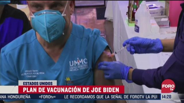 biden promete impulso a programa de vacunacion