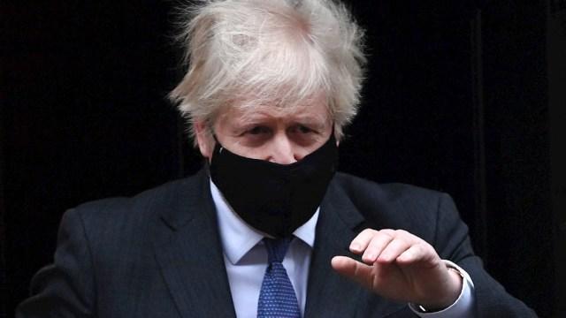 Fotografía del primer ministro británico Boris Johnson