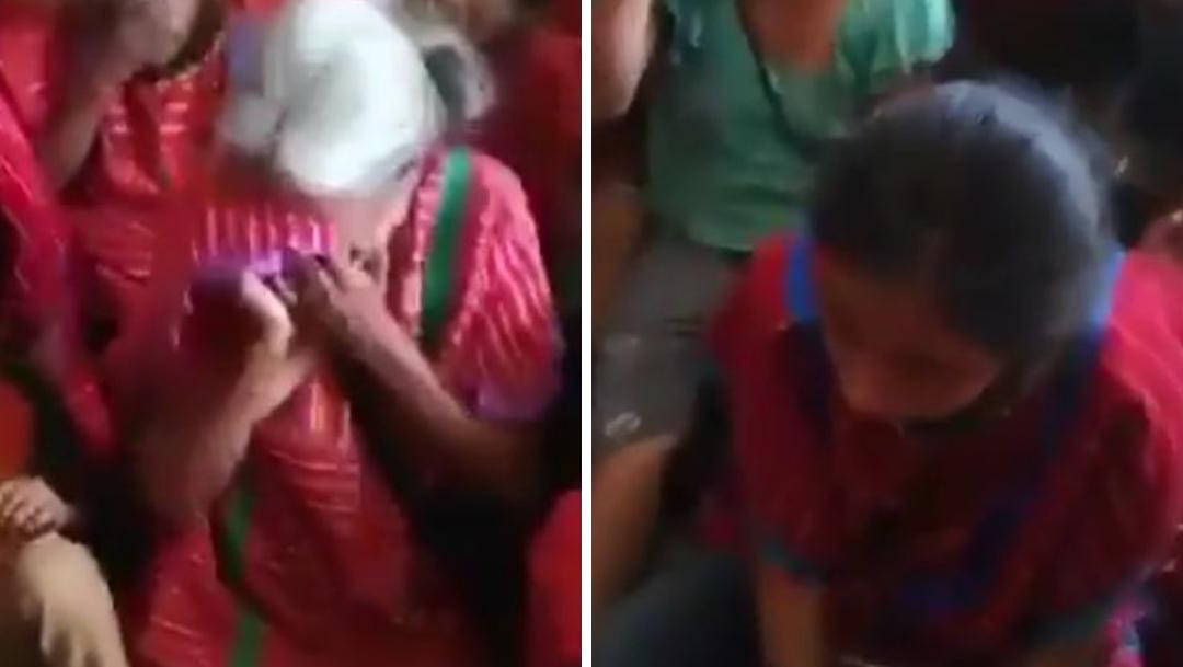 Mujeres triquis denuncian violencia de grupos armados en Oax