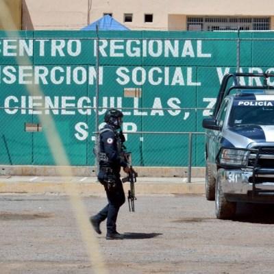 Centro Regional de Reinserción Social de Cieneguillas, Zacatecas