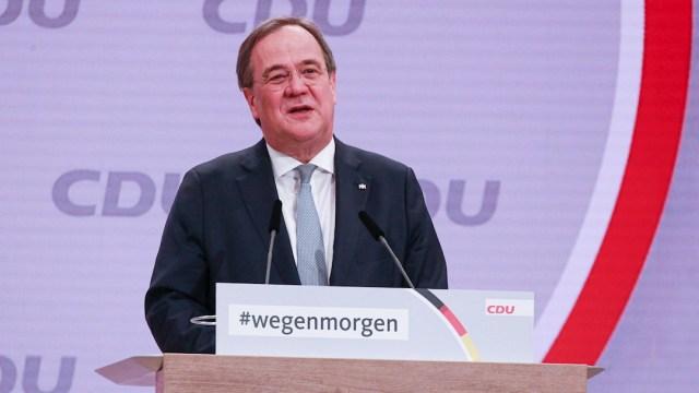 """El primer ministro del """"Land"""" de Renania del Norte-Westfalia, Armin Laschet"""