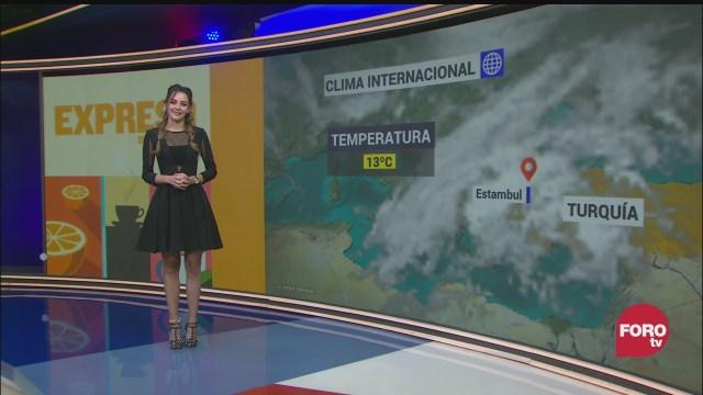 el climaenexpreso internacional del 26 de enero del