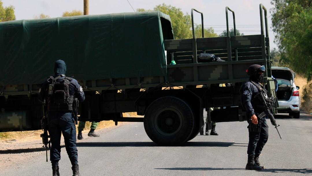 CJNG se enfrenta a policías en Guanajuato; hay 10 muertos