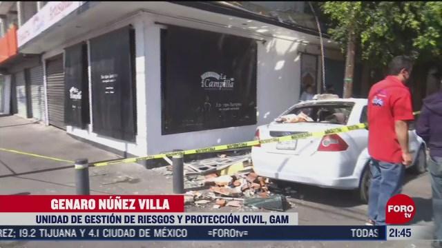 explosion en panaderia en la gam provoca danos materiales y crisis nerviosas