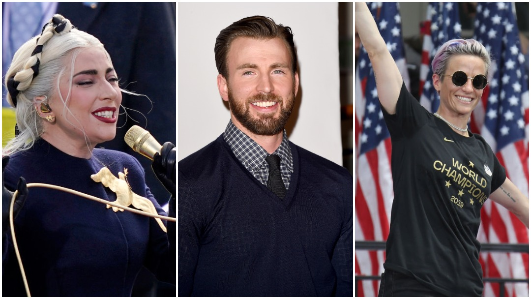 Famosos y deportistas reaccionan a toma de protesta de Joe Biden como presidente de Estados Unidos