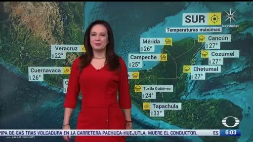 frente frio 26 provocara lluvias en el sur de mexico