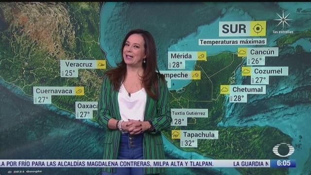 frente frio 27 provoca lluvias en chiapas tabasco y veracruz