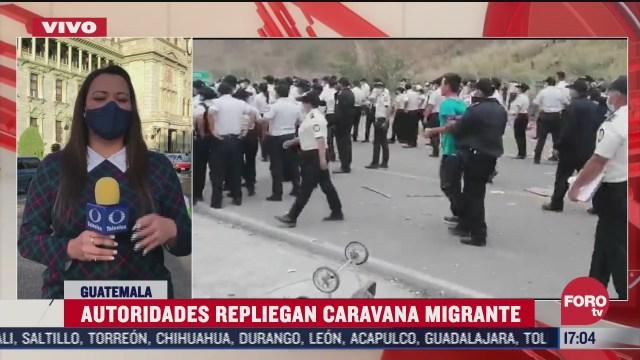 guatemala aun no da con el lider de la caravana migrante