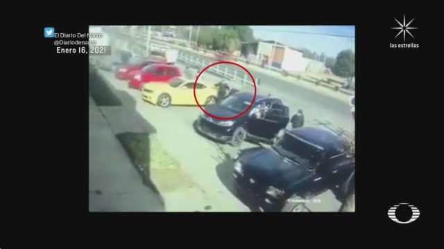 hombres armados raptaron a dos elementos de la guardia nacional