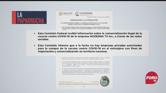 la venta fraudulenta de vacunas contra la covid no se detiene